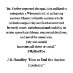 How to End the Autism Epidemic – A review